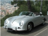 Classic Car rental Porsche 356 Speedster - Rent Hire car vehicle convertible classic luxury with driver Antibes Beaulieu sur Mer Cagnes sur Mer Cannes Eze sur Mer Juan Les Pins Monaco Villefranche sur Mer