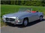 Location de classic car Mercedes 190 SL