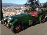 Location de classic car MG \
