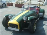 Classic Car rental Lotus Super Seven Luxury Convertible Classic Hire with driver Antibes Beaulieu sur mer Cannes Cagnes sur mer Juan les Pins Eze