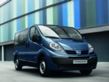 Car Rental Renault Nissan Primastar - family minivan luggage cargo space airport train station hire Nice