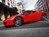 Luxury car rental   Ferrari F 458 Italia - rent hire car vehicle luxury sport convertible with driver experience modern in Antibes Cannes Juan Les Pins Monaco Nice