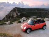 Rent the  Mini Cooper S convertible - automatic convertible economic luxury modern vehicle hire rent in Antibes Cannes Juan Les Pins Monaco