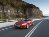 Car rental Convertible BMW Z4 - luxury automatic convertible modern space luggage trip South of France Antibes Monaco Cannes Nice