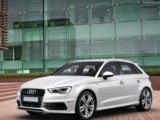 Rent the Audi A3 Sportback - car rental city car luxury comfort economy efficiency sport airport hire Antibes Juan Les Pins Cannes