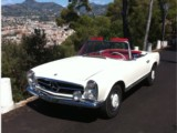 Location de classic car Mercedes 250 SL