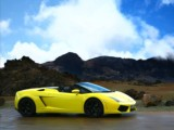 Luxury car rental  Lamborghini Gallardo spyder