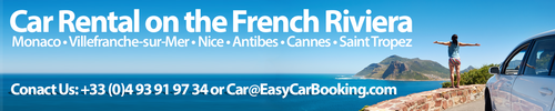 Online car rental French Riviera